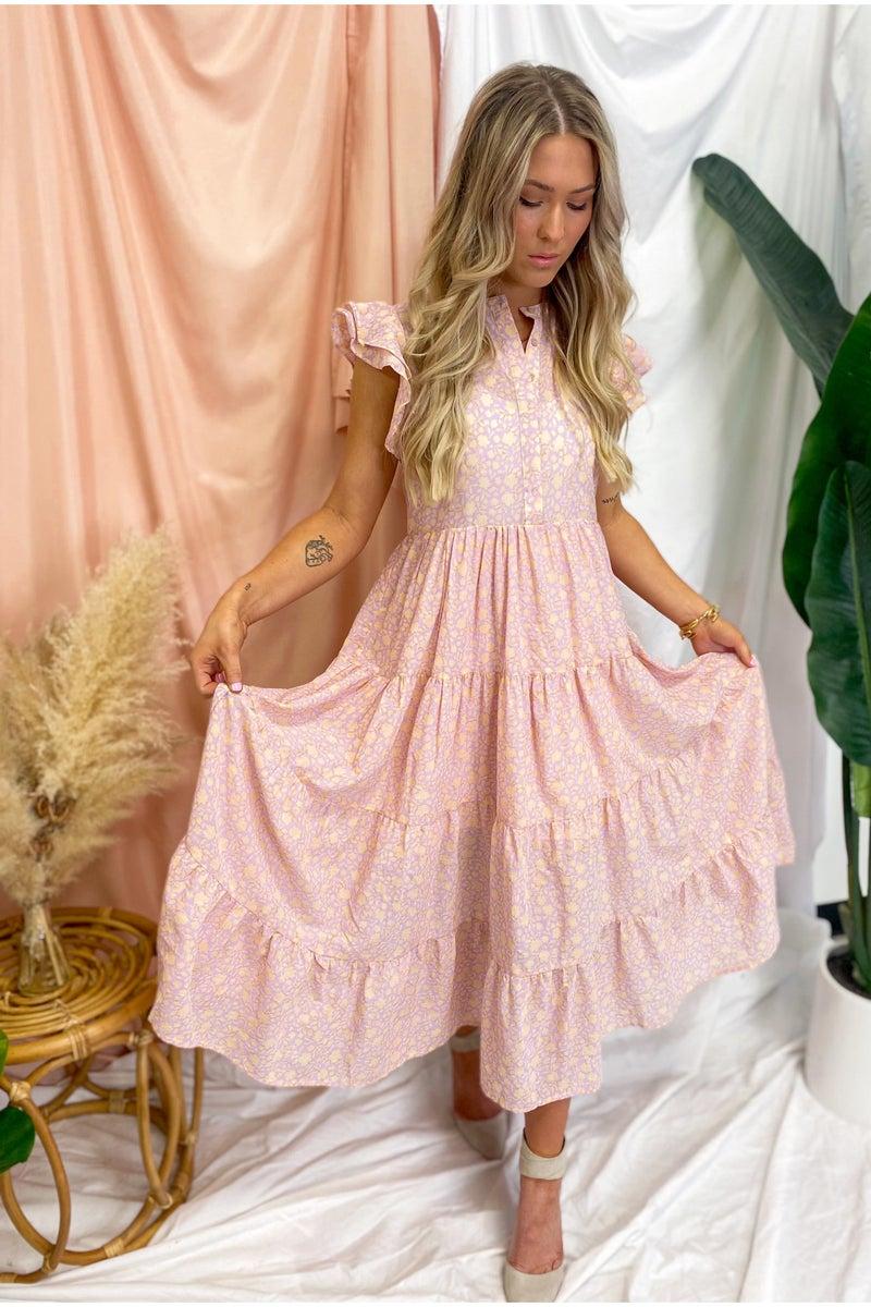 Peaches Midi Dress