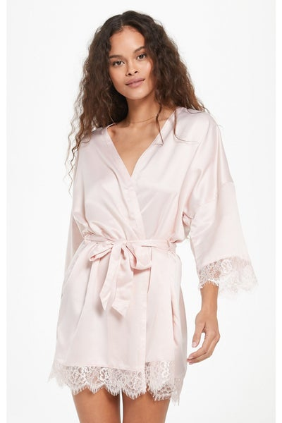 Best Day Ever Robe Rose