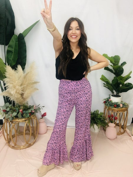 One Way Flare Pants