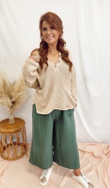 Karmen Sweater Top