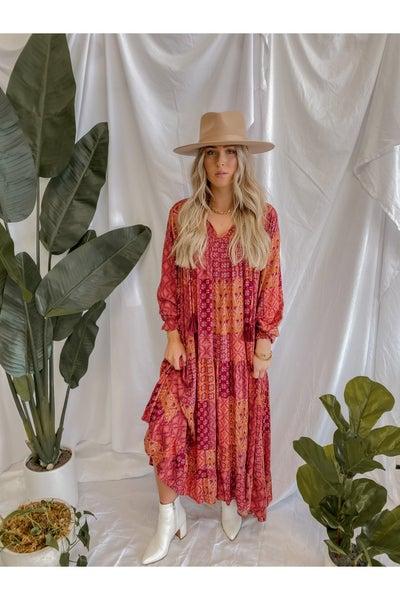 Mistletoe Maxi Dress