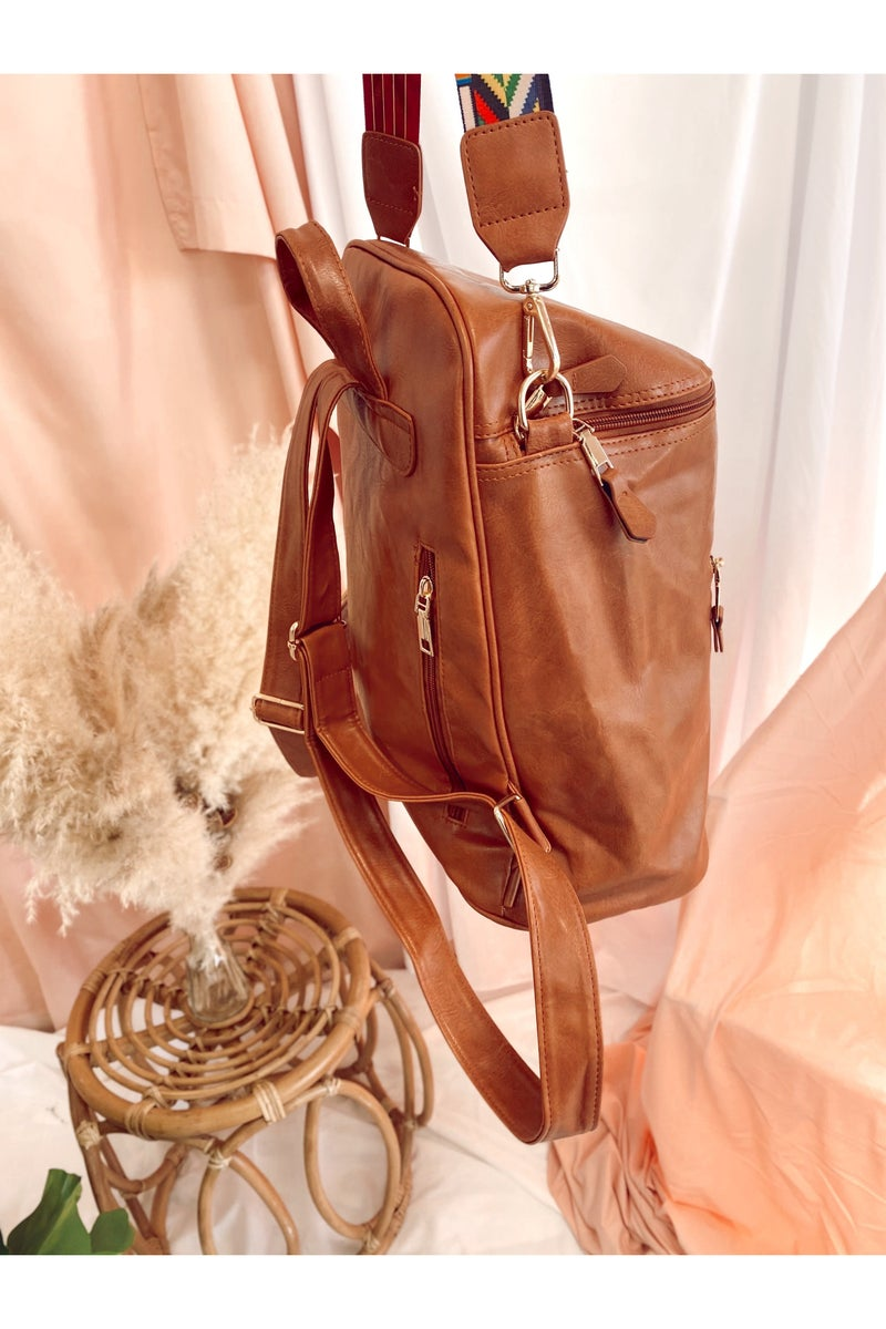 The Courtney Backpack Camel