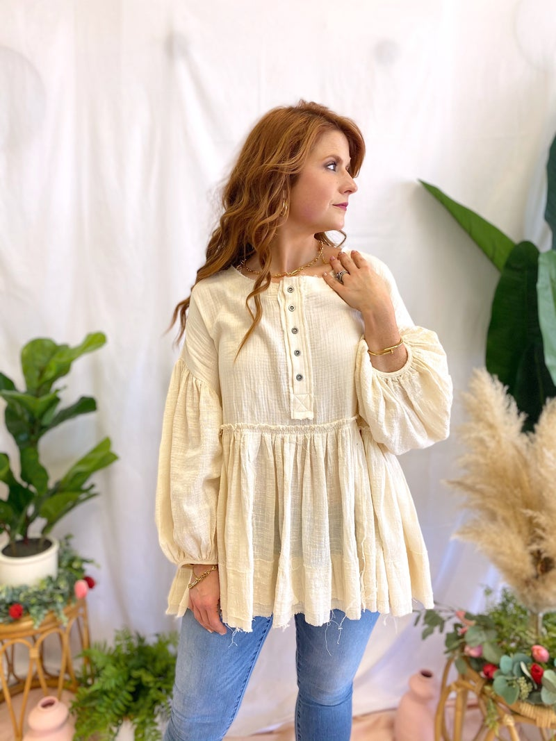 Piano Man Babydoll Tunic