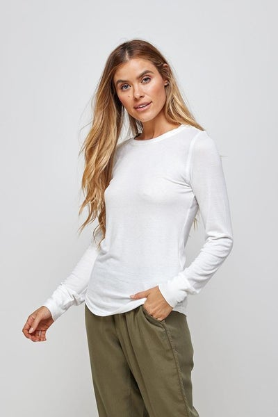 Stacy Top White