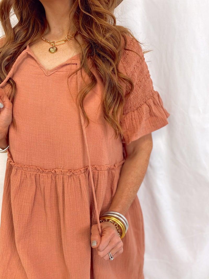 Summer Sunset Dress