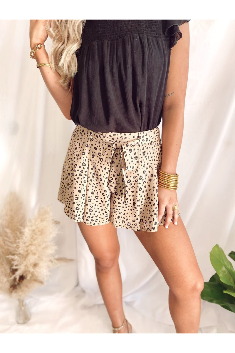 Bad Girl Spotted Shorts