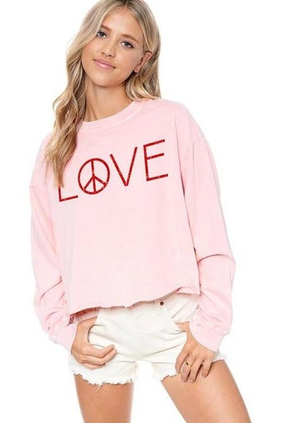 Love Peace Graphic Tee