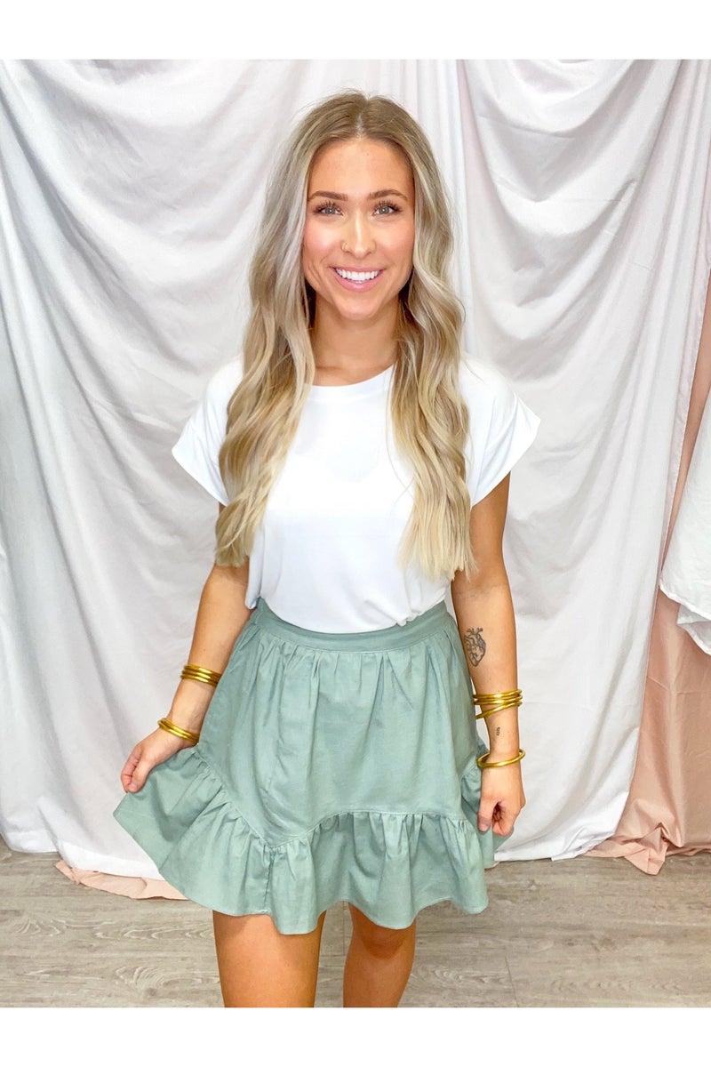 Scottie Ruffled Skirt