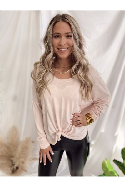Hang Out Top Rose Quartz By Z Supply