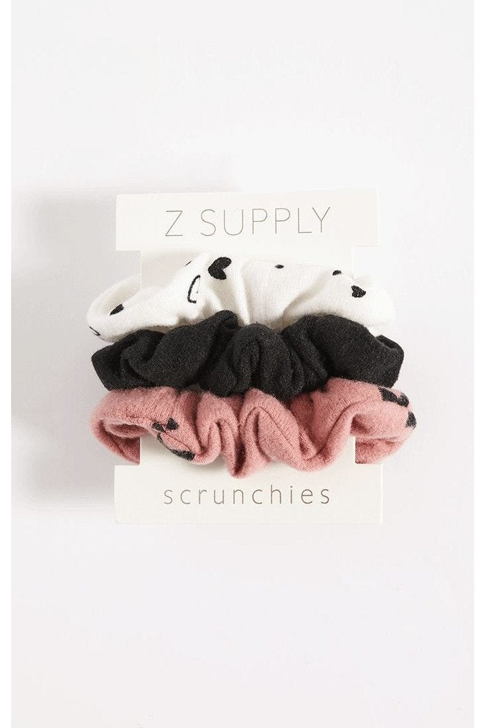 Z Supply Scrunchie Pack Rose Blossom