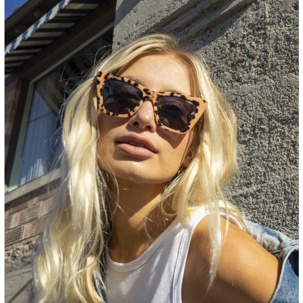 Ashbury Sunglasses Leopard