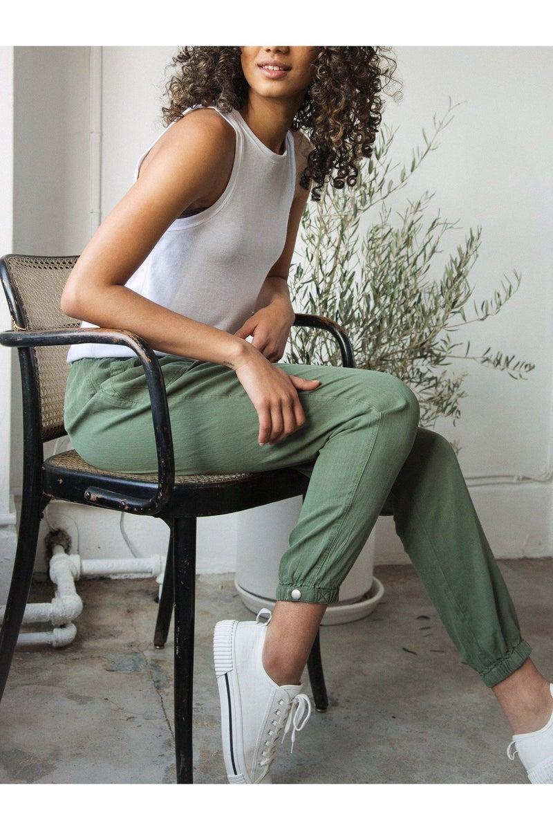 Serena Joggers Ivy Green