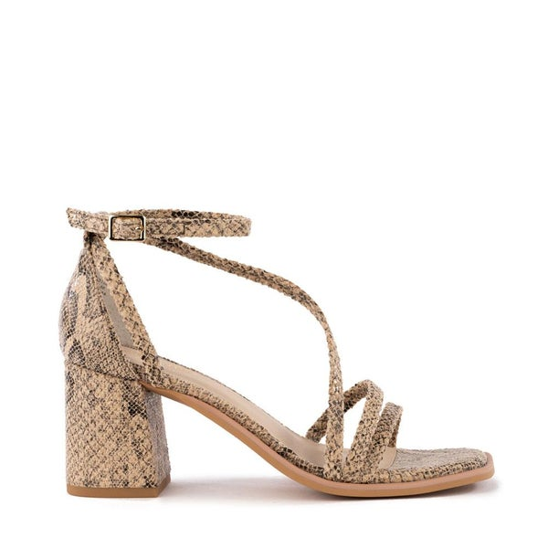 Comradery Taupe Exotic Heel by Seychelles