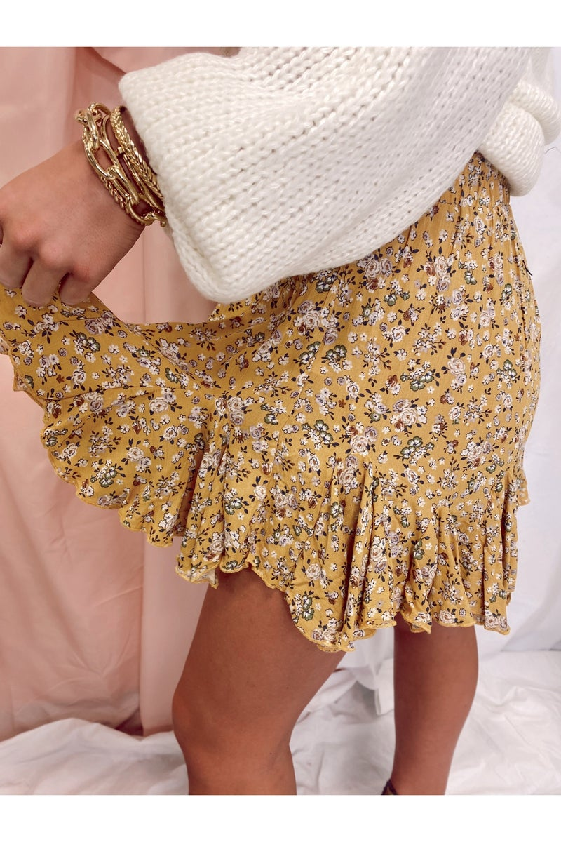 Deal With It Skort Yellow