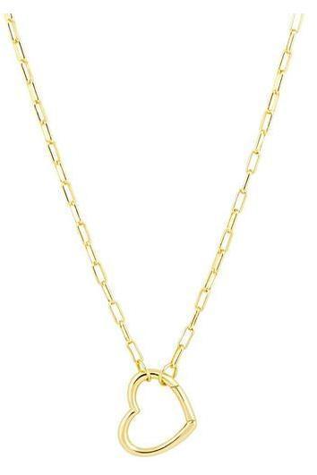 Brooke Open Heart Necklace