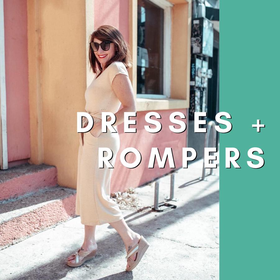 Dresses + Rompers