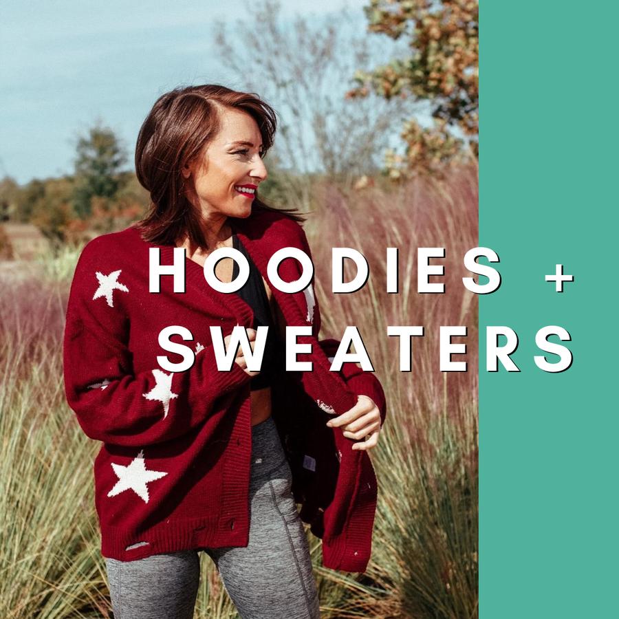 Hoodies + Sweaters