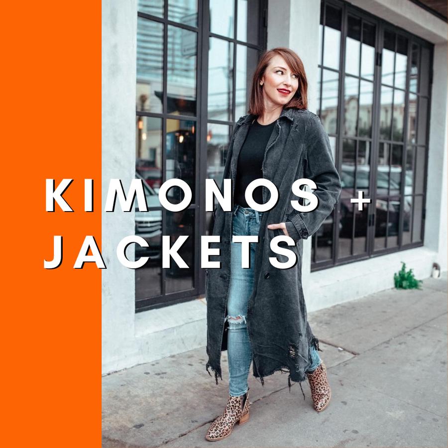 Kimonos + Jackets
