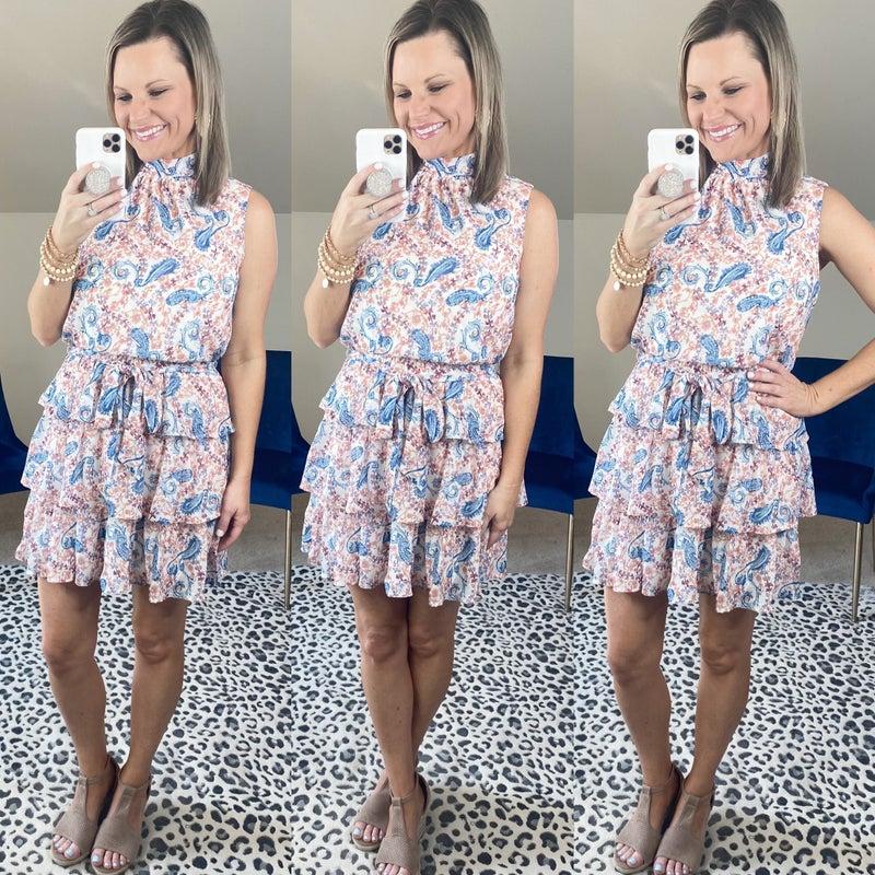 Forget Me Not Halter Dress