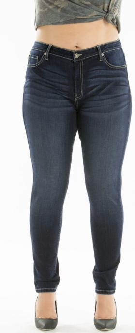 Mid Rise Super Skinny Jeans 3X