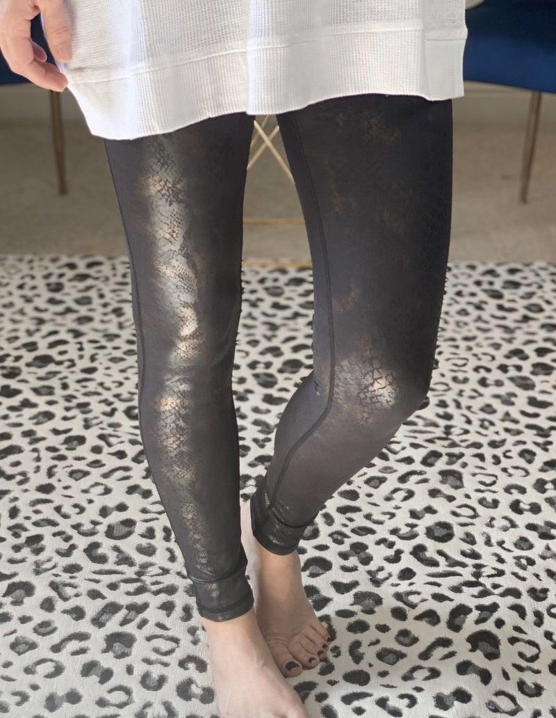 Snakefoil Highwaist Leggings 3X