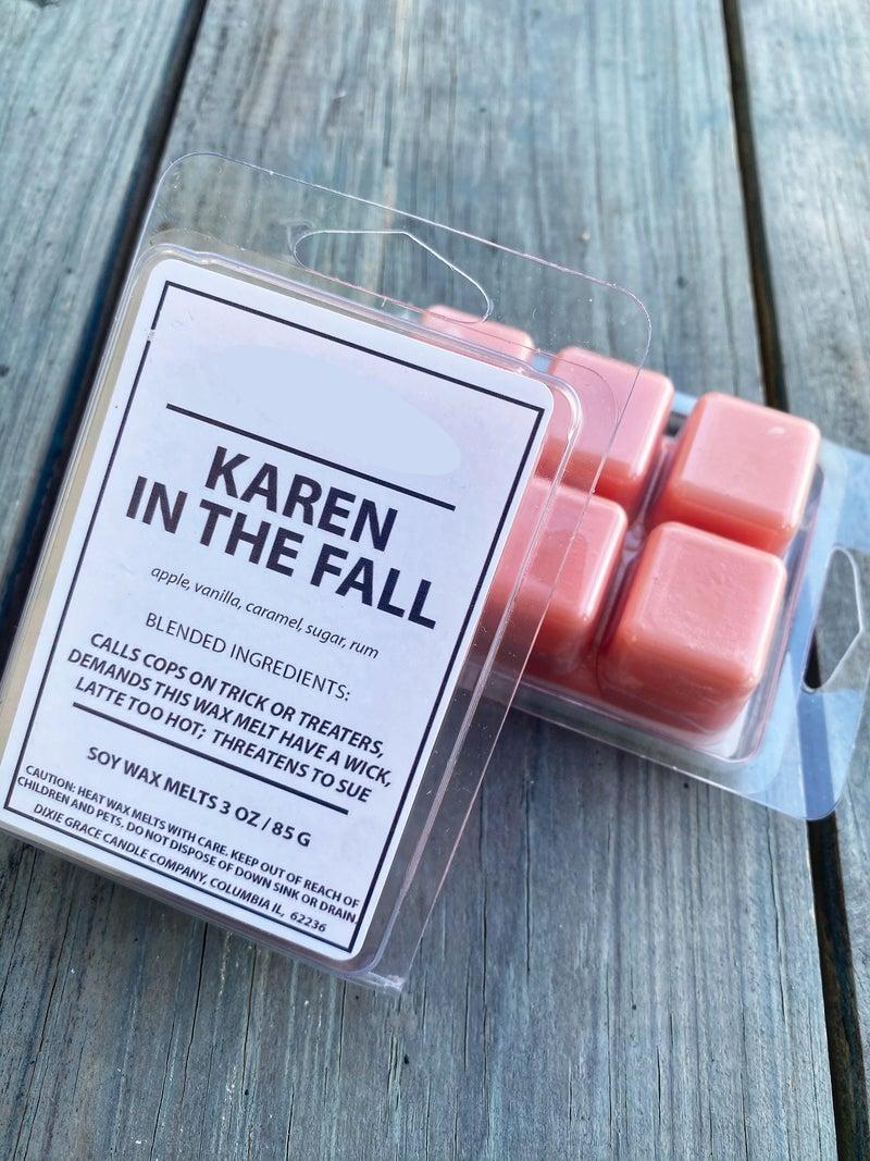 Karen in the Fall- Wax Melts
