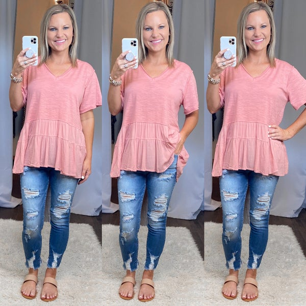 Mid Rise Destroyed Skinny Jeans SIZE 20