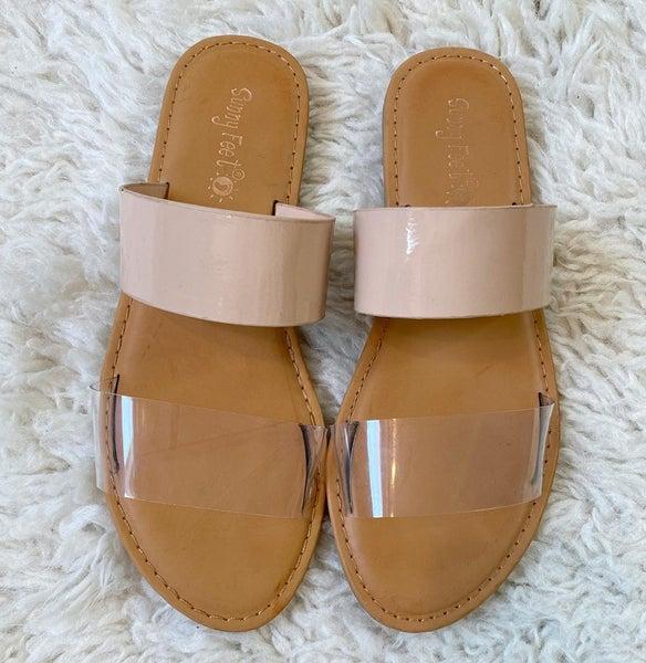 Low Heeled Sandal
