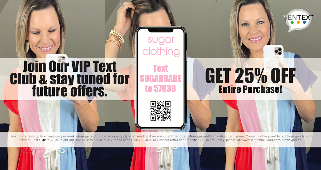 Join our VIP Text Group!!