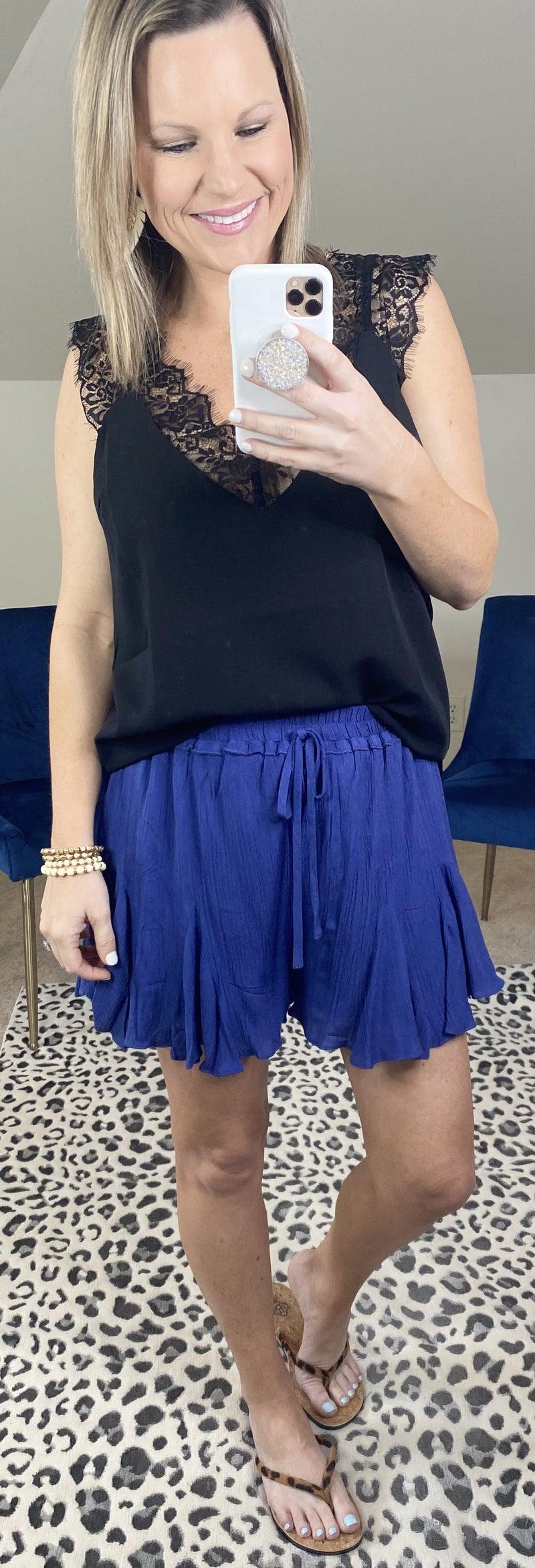 Renee Flared Shorts