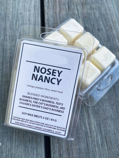 Nosey Nancy Wax Melts