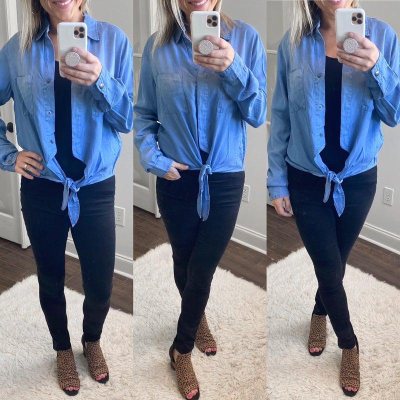 Annie Button-Up Top