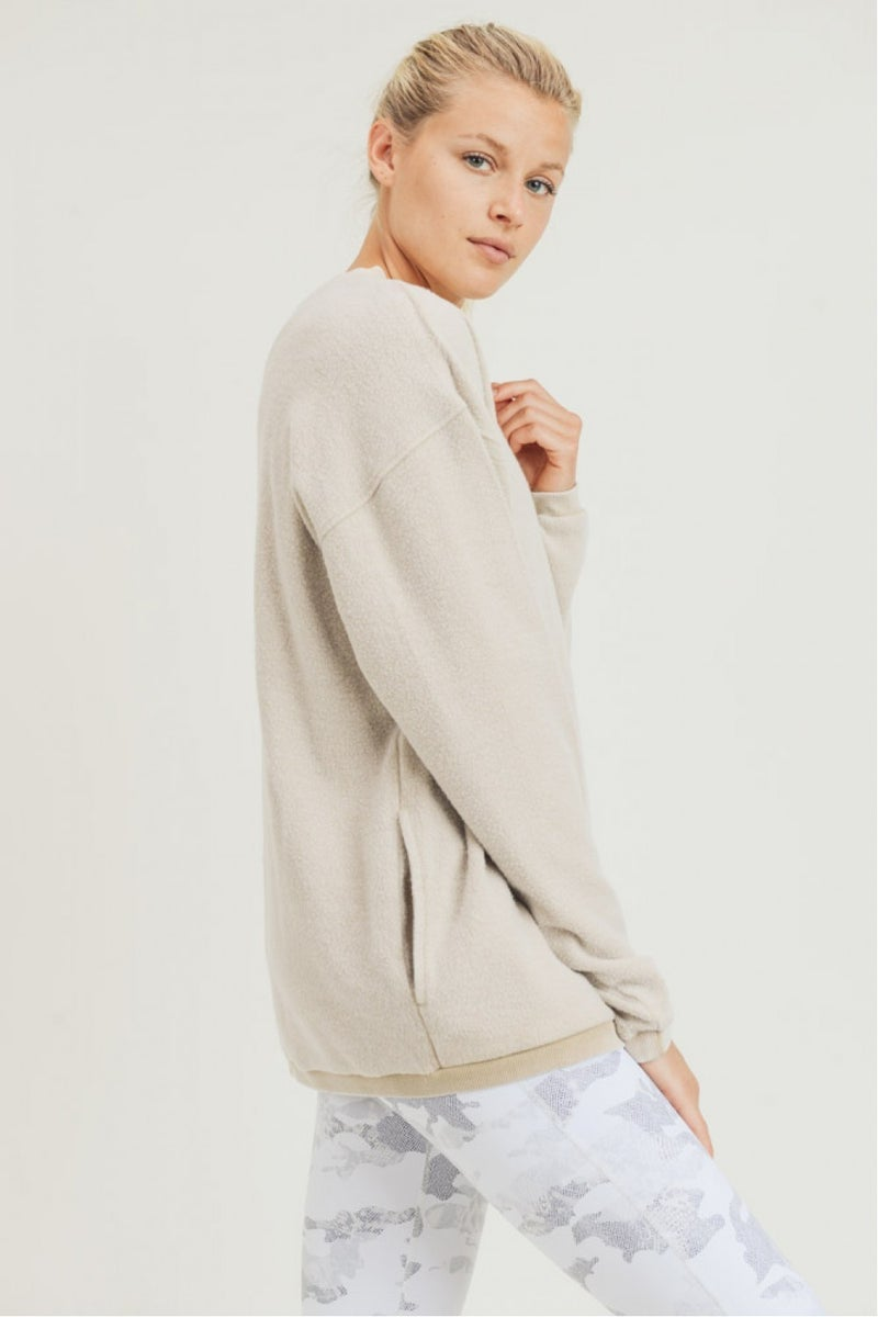 Fuzzy Pullover