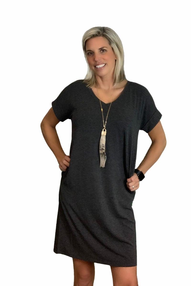 Casual Everyday Dress Sm- 3X