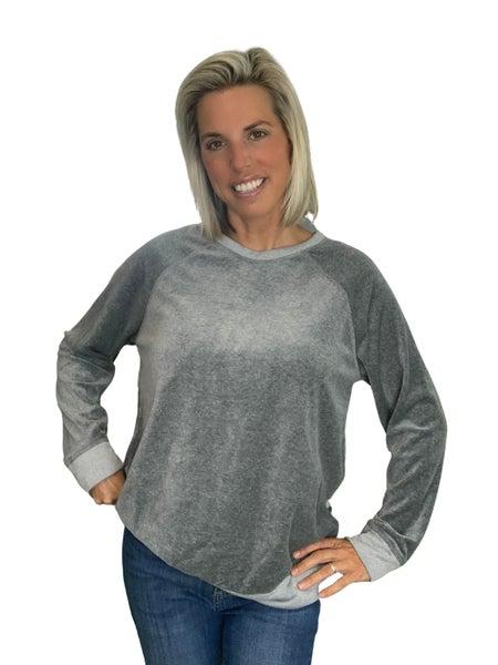 Fergie Velour Sweatshirt