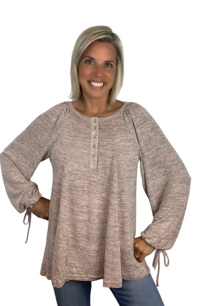 Up In the Clouds Tunic Top
