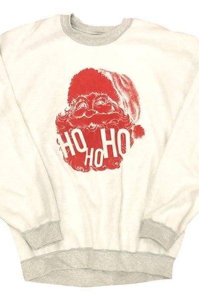 Ho Ho Ho..Jolly Saint Nick Inverted Sweatshirt