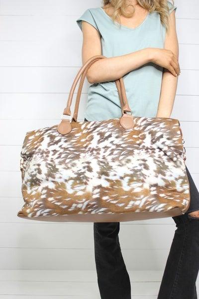 Getaway with Me, Weekender Bag: Deer