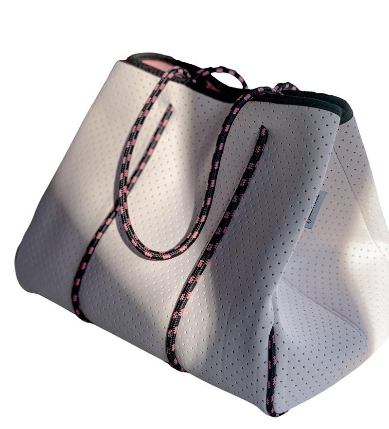 White Neoprene Bags