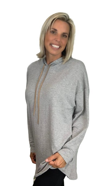 Sail Away French Terry Fabric Hoodie