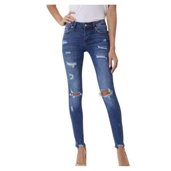Stellar Disstressed Jeans