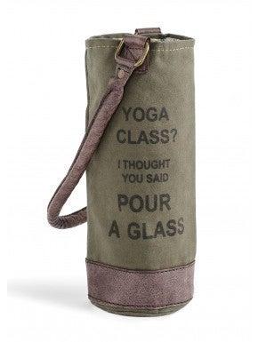 Yoga Class Wine Bag