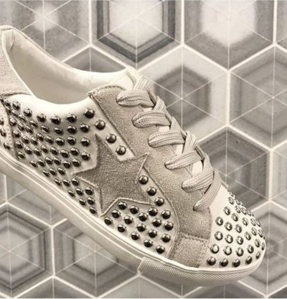 IN STOCK Stud Muffin Tennis Shoes
