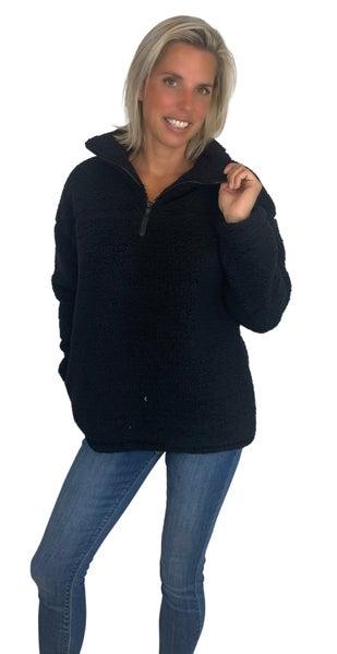 New Colors Zip it Cozy Jacket Camel, Black  & Grey Colors