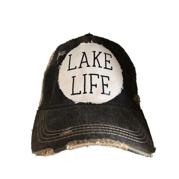 Lake Life is the Best Life.. Trucker Hat