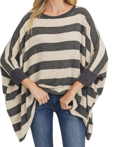 Love Yourself Stripe Top