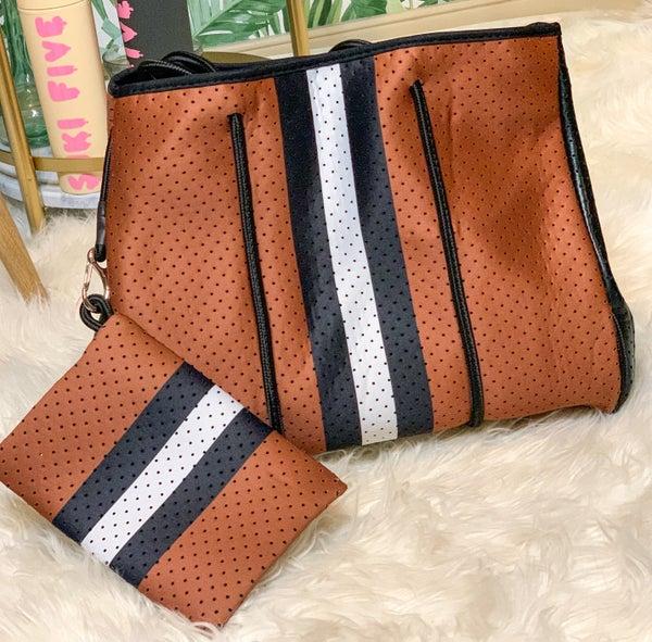 Brownie Sundae Neoprene Bag w/ Liner