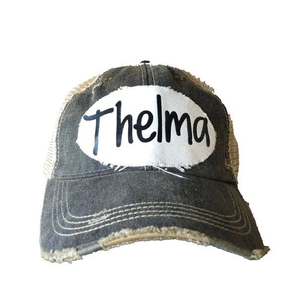 We Be Like Thelma & Louise Trucker Hats