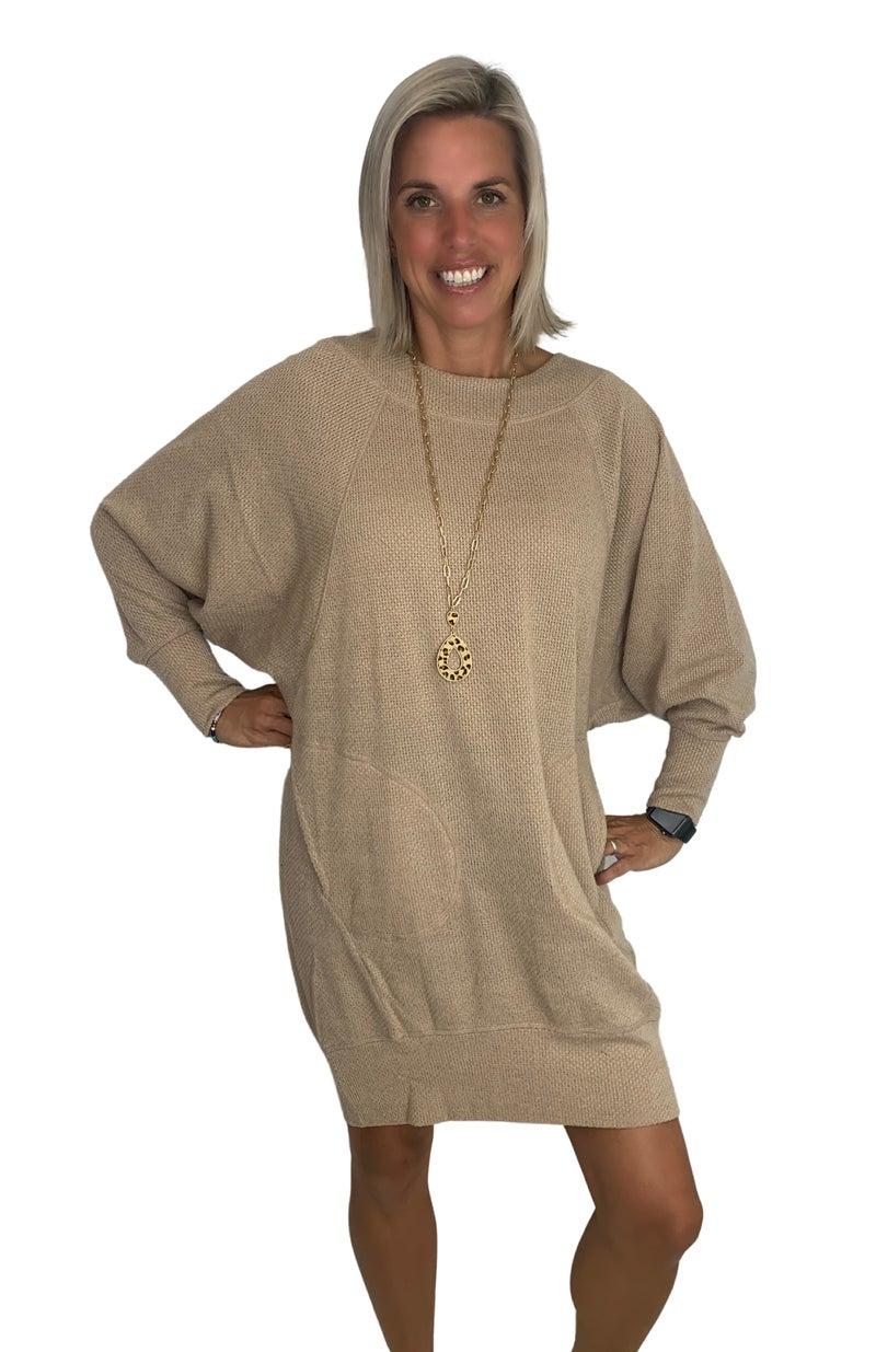 Jolene Mini Sweater Dress