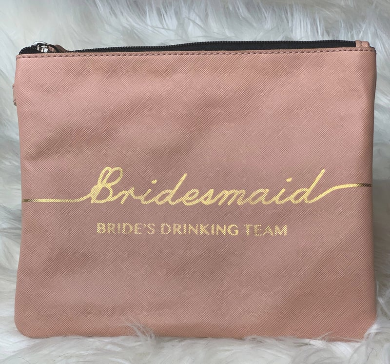 Let's Do This: Bride & Bridesmaid wristlets